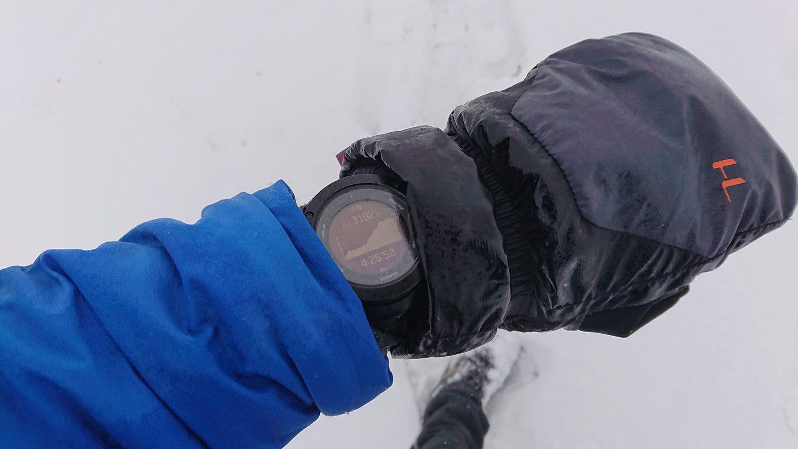 Aklimatizácia pod Chaukhi pass sedlom vo výške 3200 m.n.m