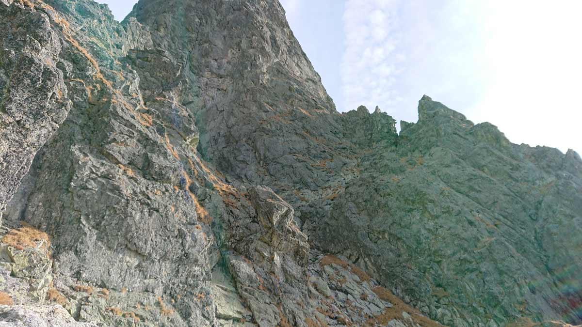 Jubilejná horolezecká cesta na Velický Zub, štvrtá dĺžka