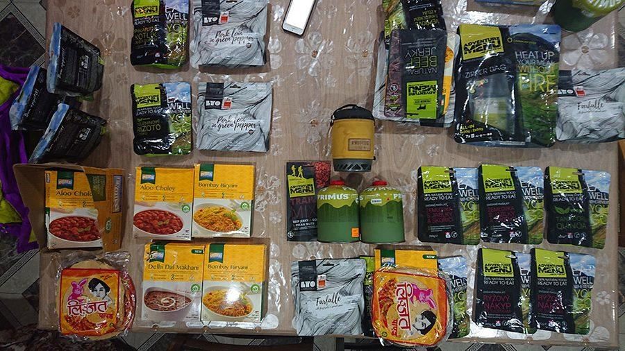 expedičná strava na kazbek, konkrétne Adventure menu a Jedzhned.sk