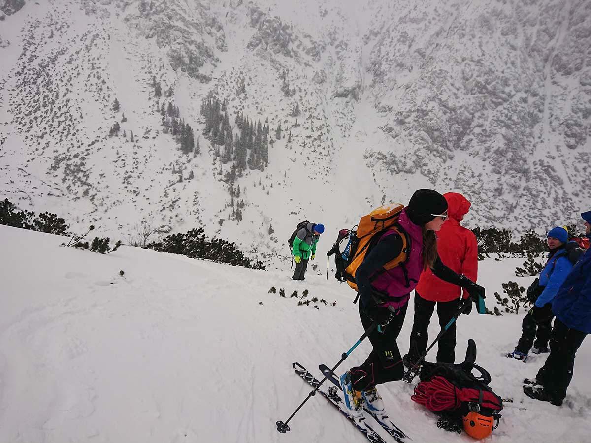 Skialpinizmus do doliny piatich poľských plies