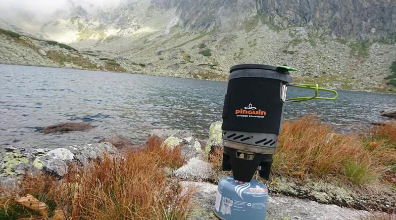 Plynový varič Pinguin Aura v prírode