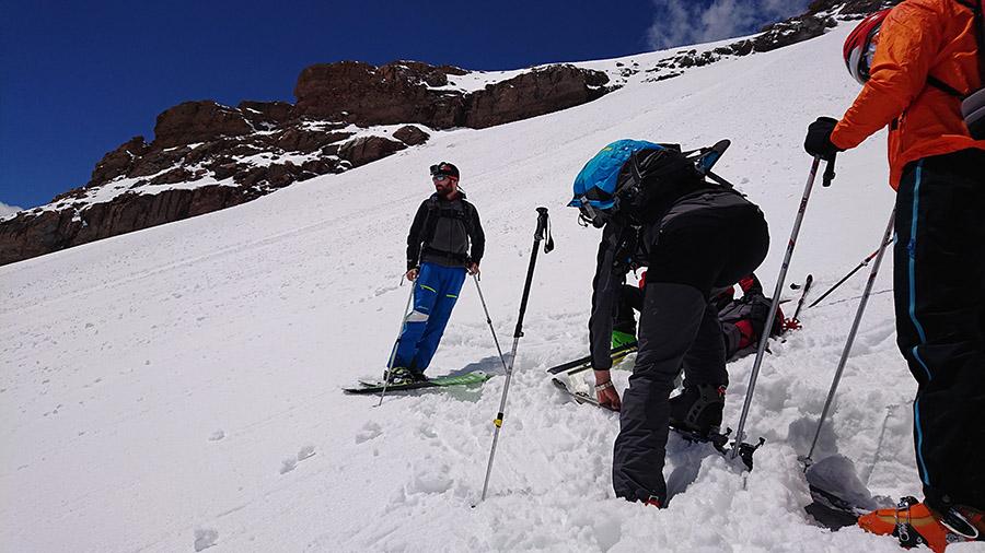 Aklimatizácia na Kazbek nad Betlemi hut v 4200 m.n.m