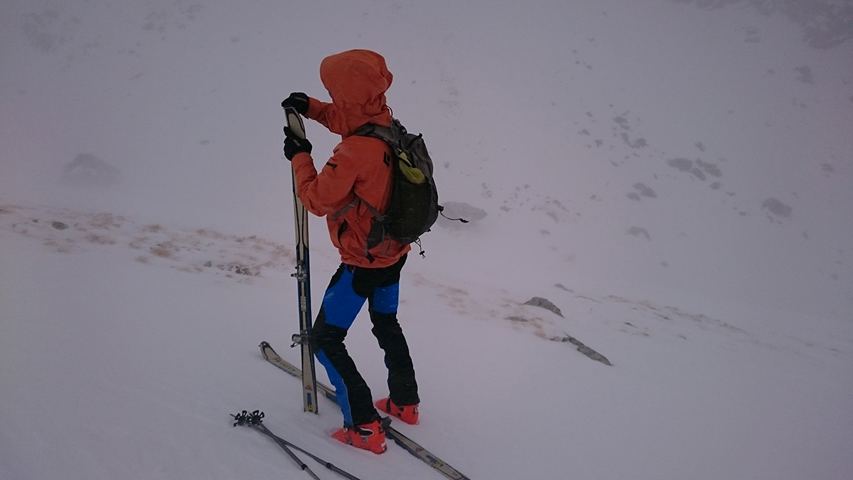 Skitouringove nohavice Cascade plus