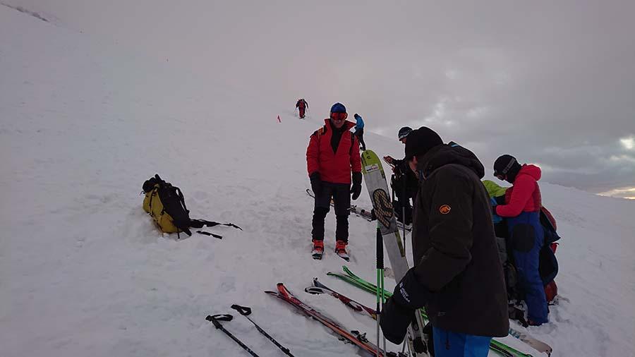 Výstup na Elbrus na lyžiach