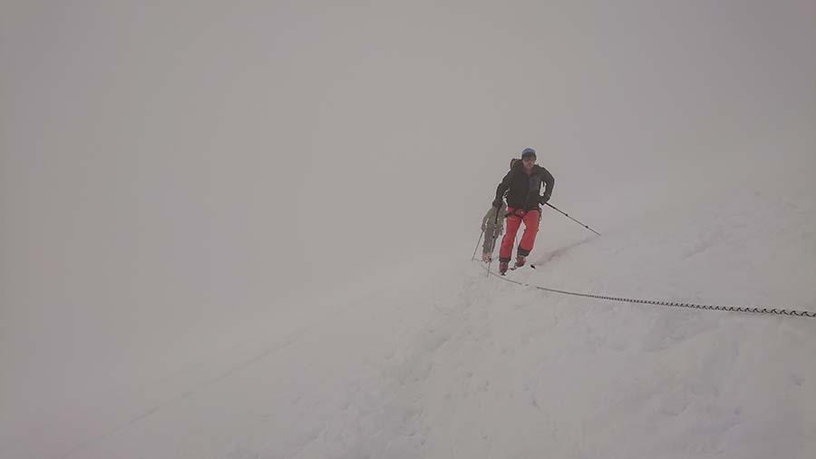 Fixné lana na Elbruse / Kaukaz