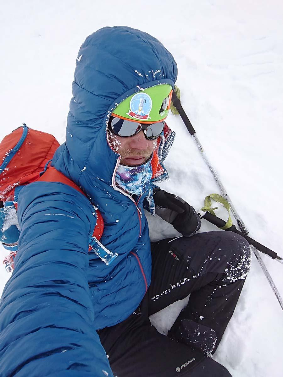 Lyžujeme z Elbrusu dole, ale chce to pauzy/ kaukaz