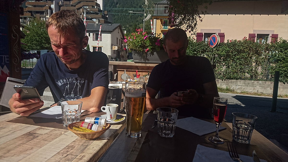 strava v Chamonix
