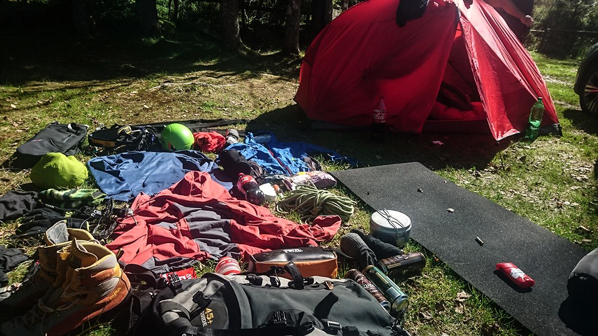 Aklimatizacia a kemp v chamonix