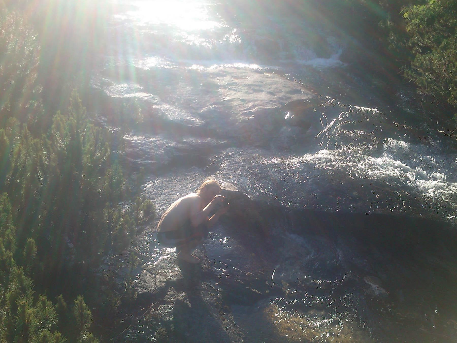 Pri potoku v tatrách