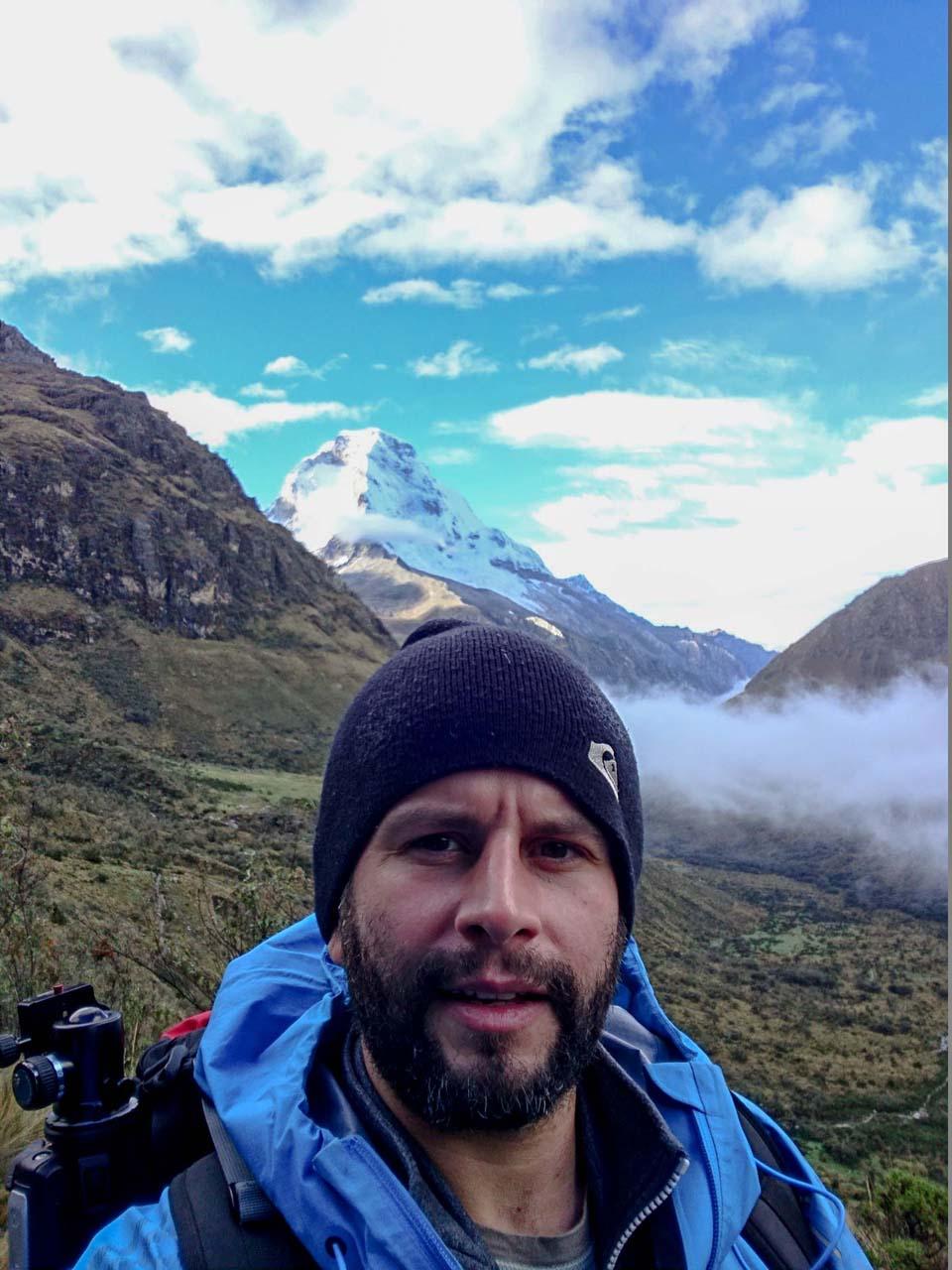 športové oblečnie Merino tričko Crawler na vandrovke v Peru