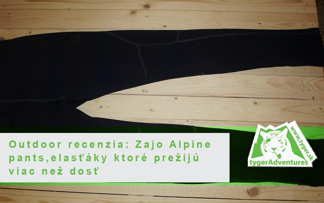 9ec3594fd Outdoor recenzia: Zajo Alpine pants, elasťáky ktoré prežijú viac než dosť