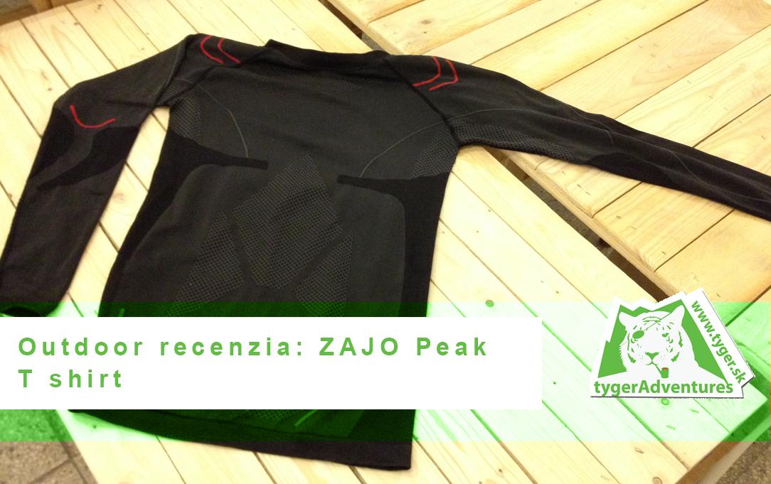 Outdoor recenzia: Zajo Peak tshirt