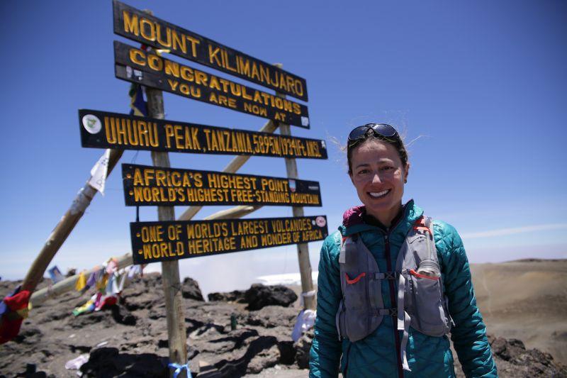 Expresky z hôr 83 - Rekordný čas Fernandy Maciel na Mount Kilimanjaro, zdroj: wiredforadventure.co.uk