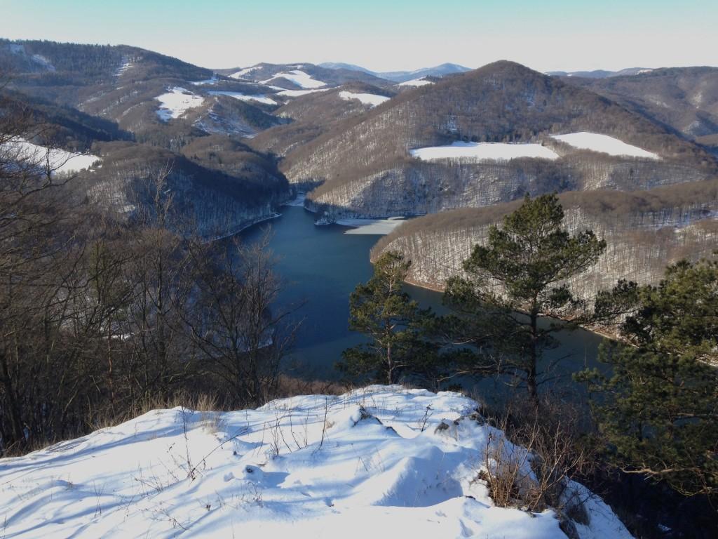 drienková skala, bežecké trasy v okolí Ružína