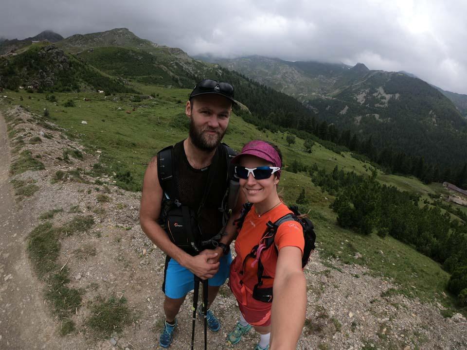 Úsmev prosím Najvyšší vrch Kosova - Djeravica 2656 m.