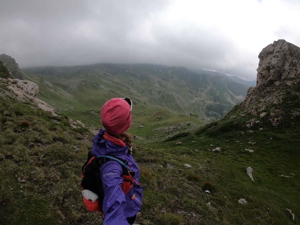 Výhľady cestou Najvyšší vrch Kosova - Djeravica 2656 m.
