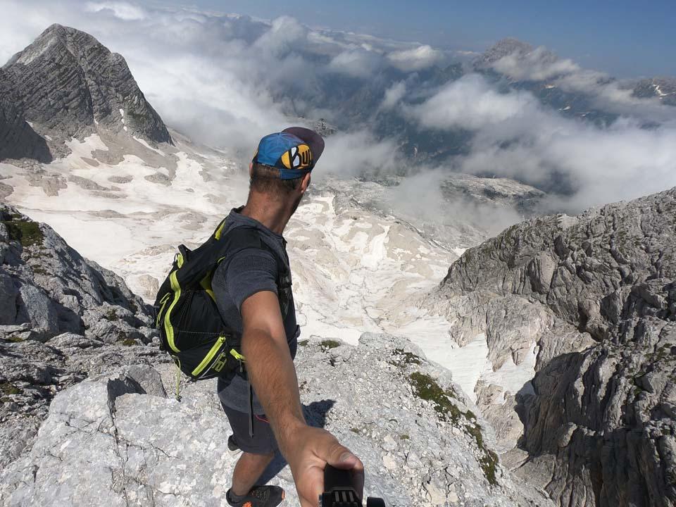 Julské alpy: Tyger si vybehol na vrchol hory Kanin