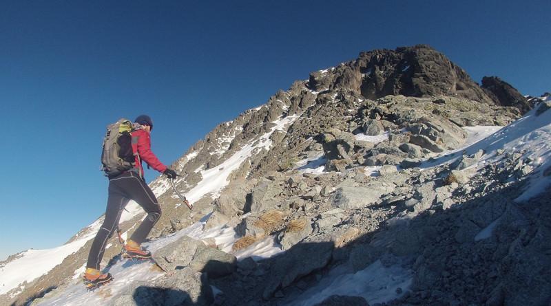 Malý Ľadový štít cestou zo sedielka