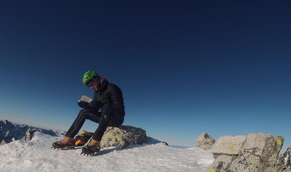 malý ľadový štít vrchol