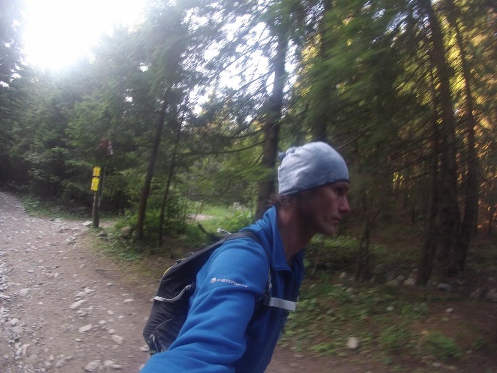 Foto z tajného bežeckéeho tatranského projektu, kde mi hry jasne vysvetlili, že nestačí maŤ len natrénovane km :)