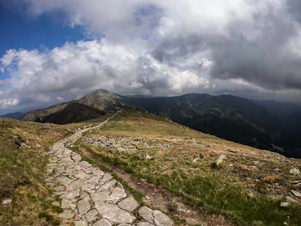 Čo pohľad to skvost Hrebeňovka Nízkych Tatier