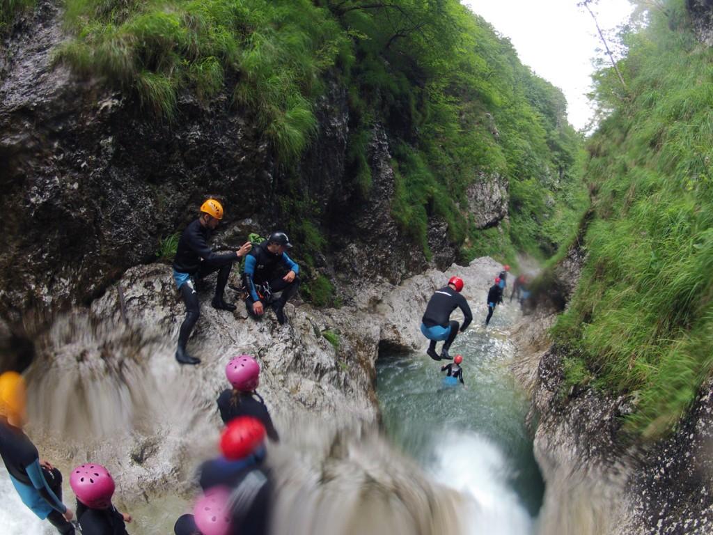 skáčeme do vody v Slovinsku a príprava na Malofatranskú stovku
