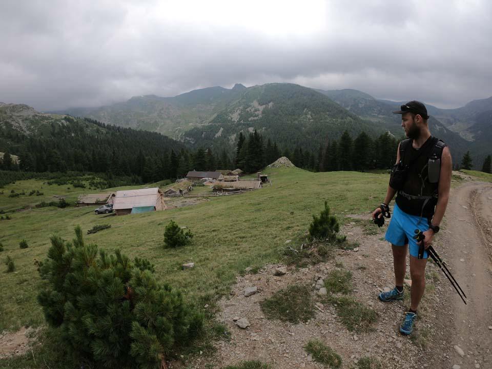 Najvyšší vrch Kosova - Djeravica 2656 m. Aké to tu majú jednoduché a krásne