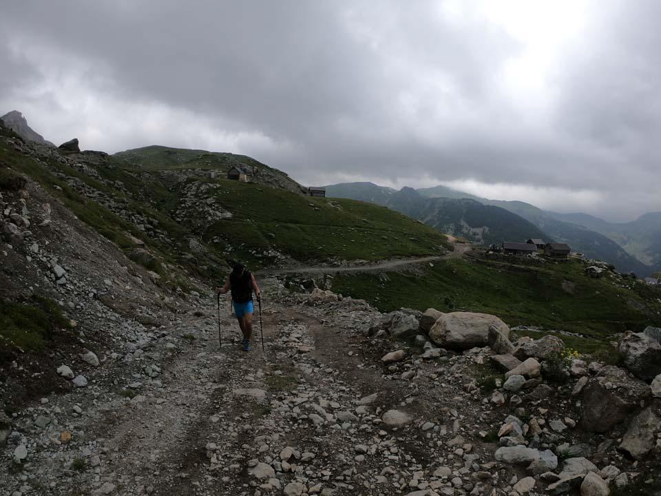 cesta pre autá domácich Najvyšší vrch Kosova - Djeravica 2656 m.