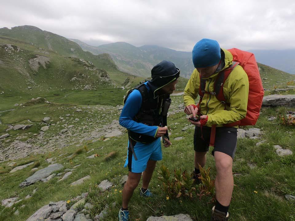Najvyšší vrch Kosova - Djeravica 2656 m. Ešte že máme GPS