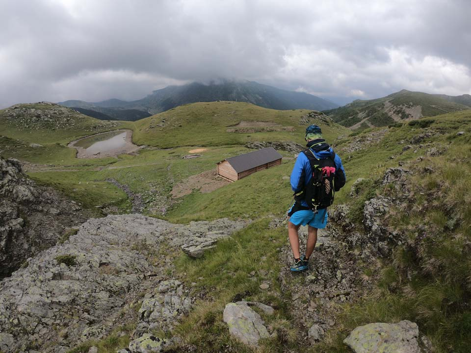 Najvyšší vrch Kosova - Djeravica 2656 m.