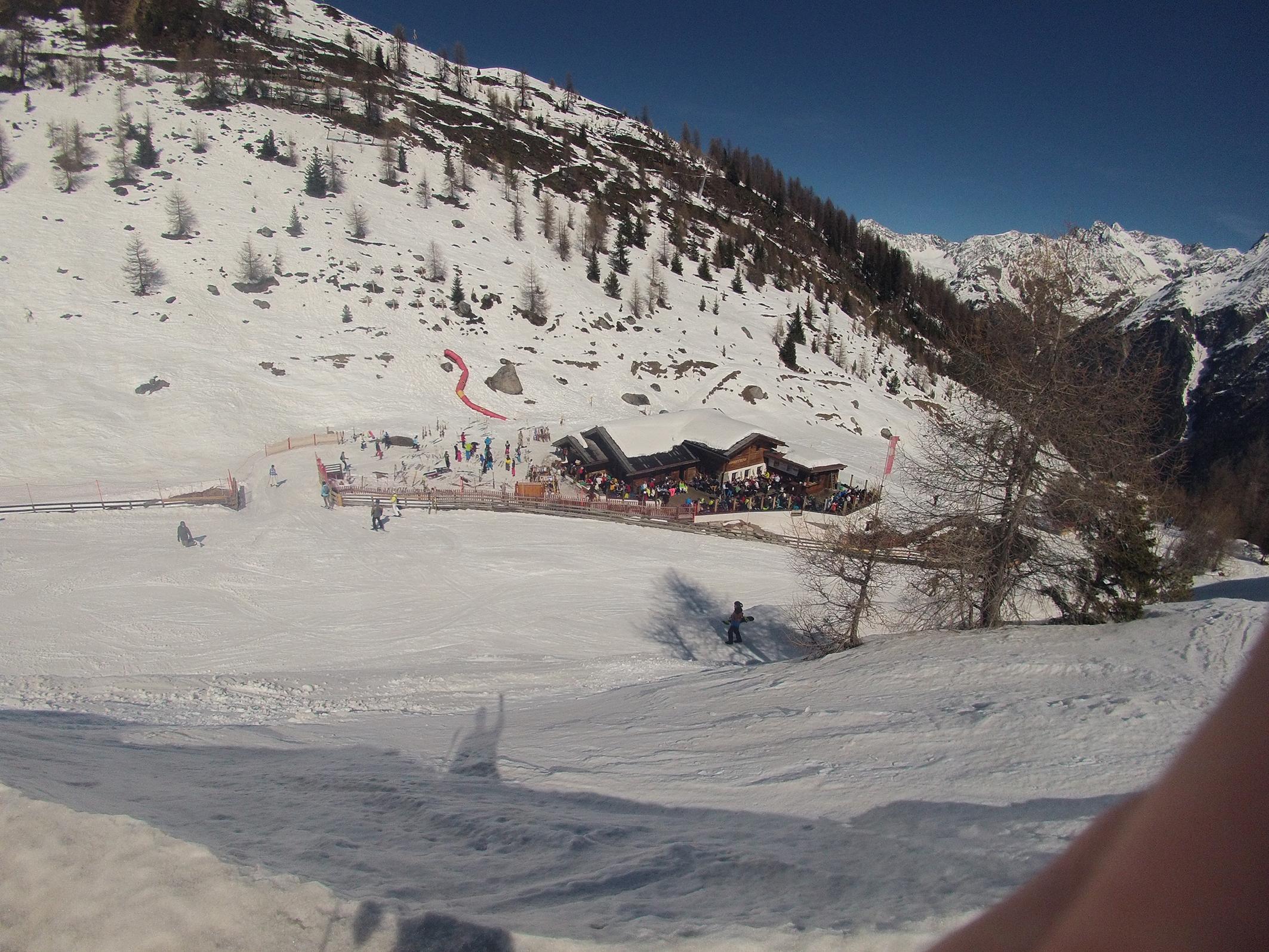 Buffet Hühnersteign, Alpy (2.012 m)