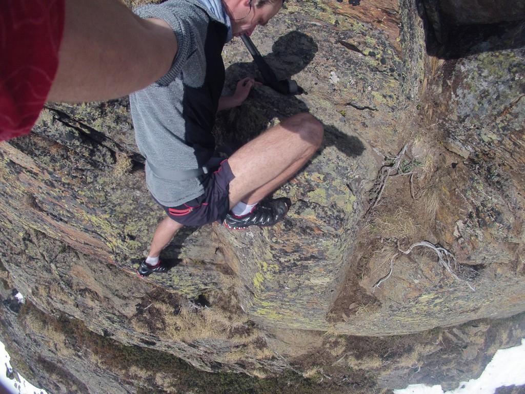 ClimbingRunning dobrá pasážička, akurát na tenisky