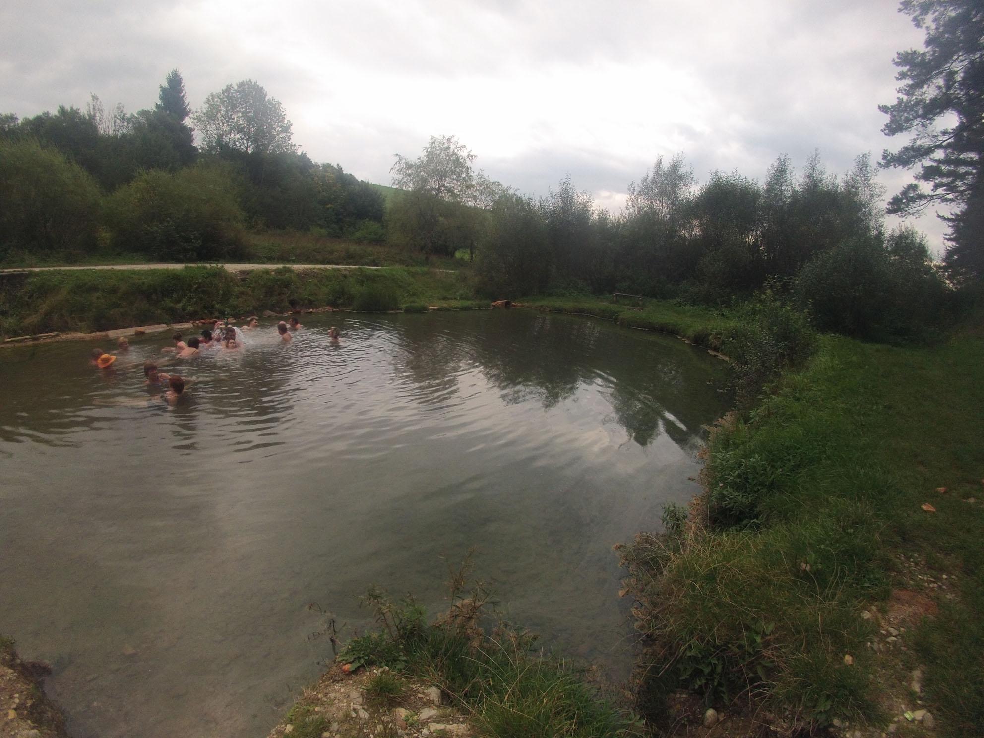 kaľameny prírodné free jazierko