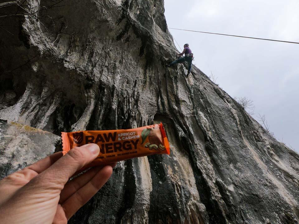 Raw tyčinky a lezenie v Chorvátsku