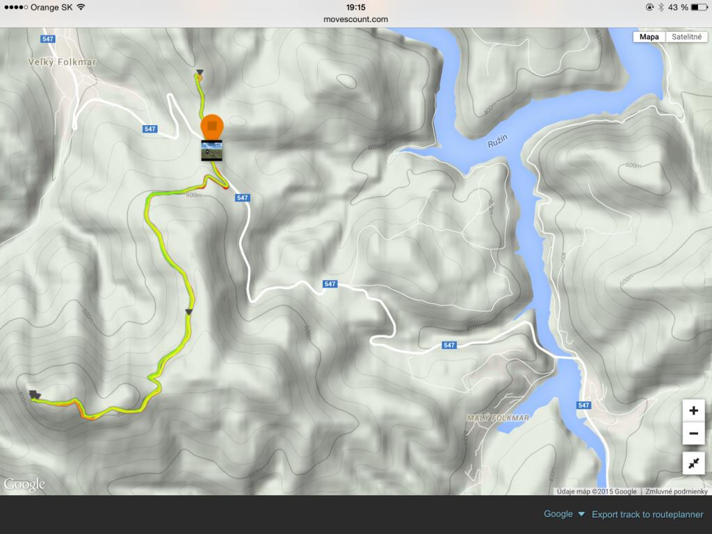 ľahší variant od cesty...cca 10 km, nastúpaných 400m