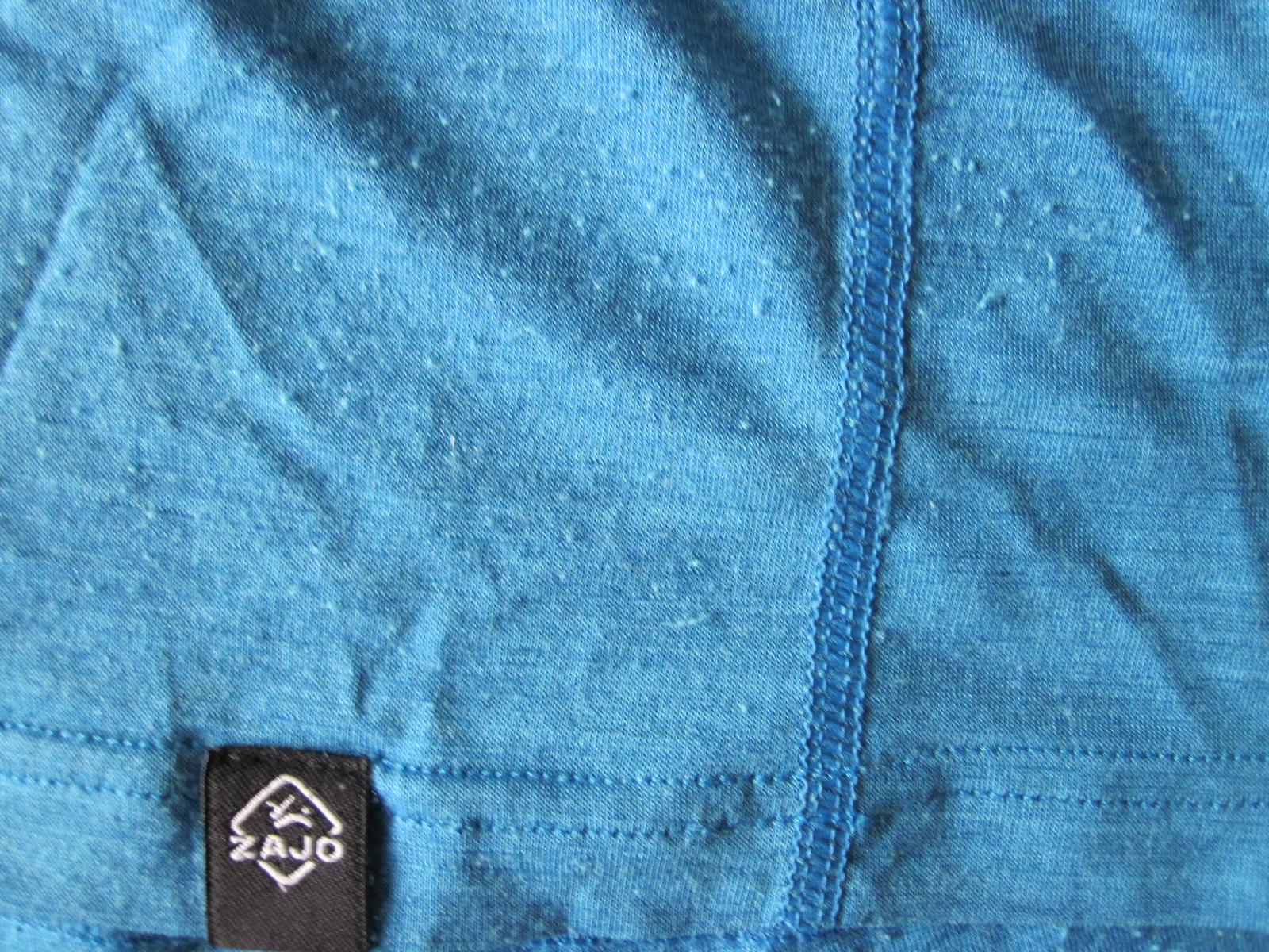 Zajo Merino Tričko švi sú spracované veľmi kvalitne, to sa musí uznať