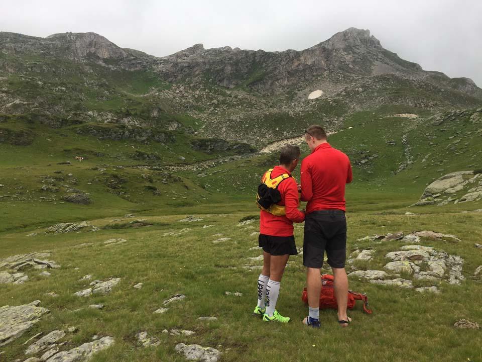 A opäť sme sa stratili Najvyšší vrch Kosova - Djeravica 2656 m.