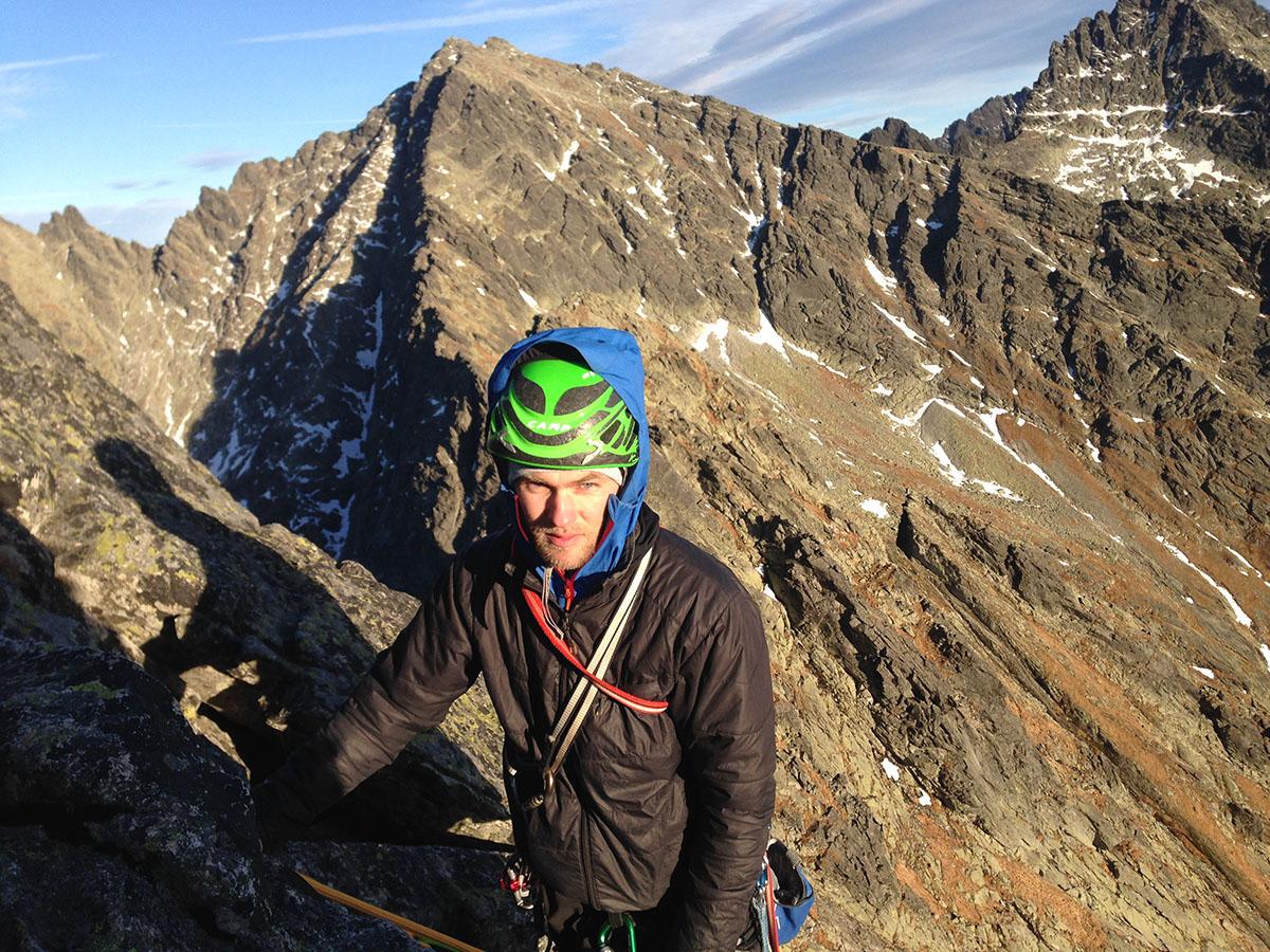 Kunene ako horolezecká bunda