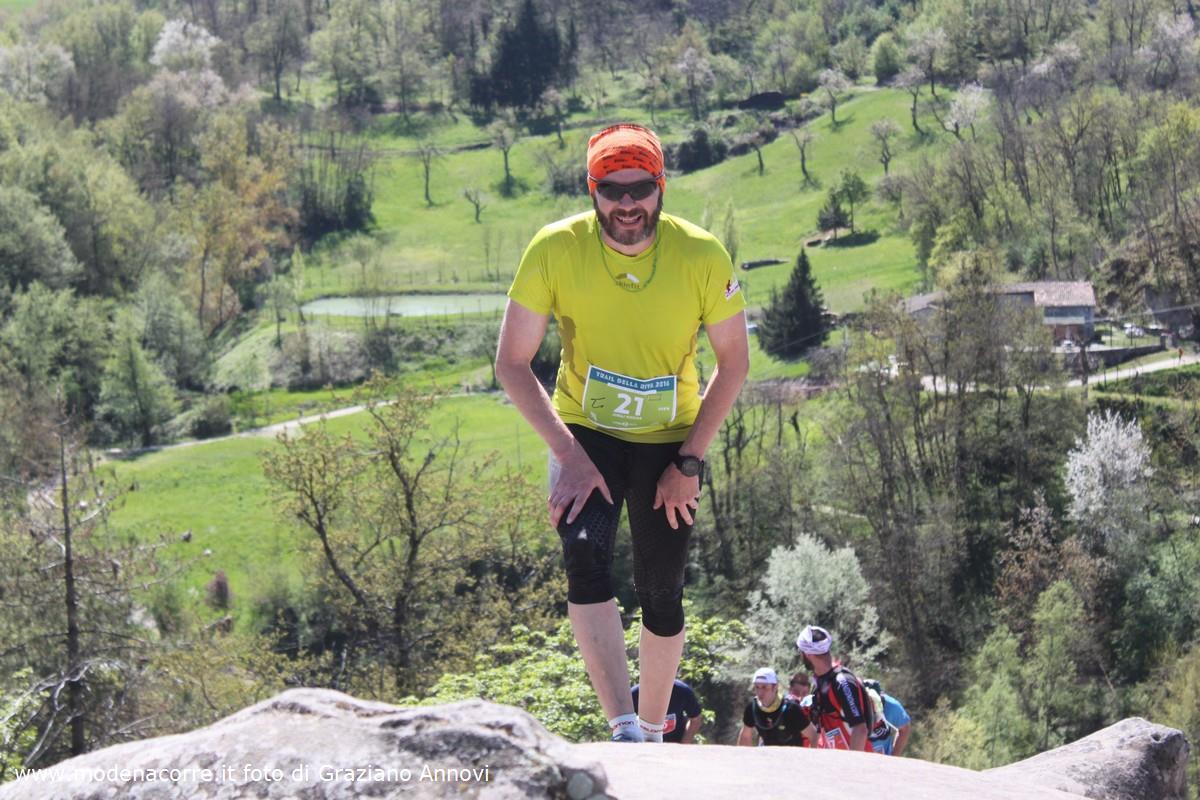 Trail Della Riva - Výstup po Sasso di Sant'Andrea v mojom podaní