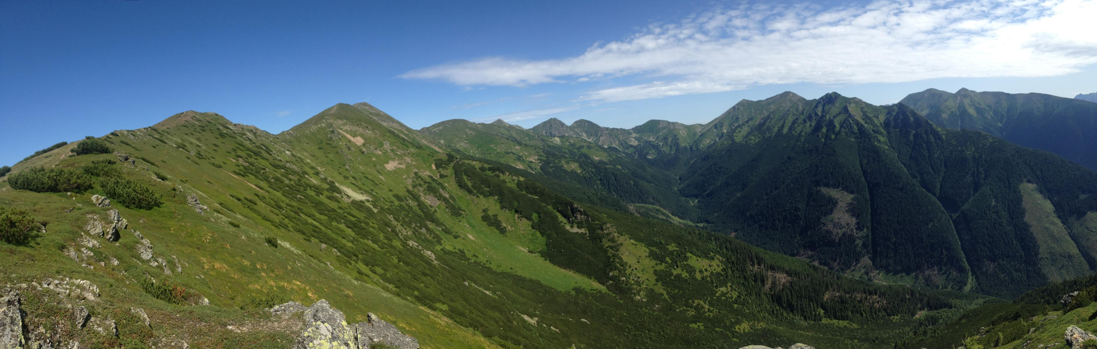 Zelenou-cez-Mládky-na-Baranec-Západné Tatry