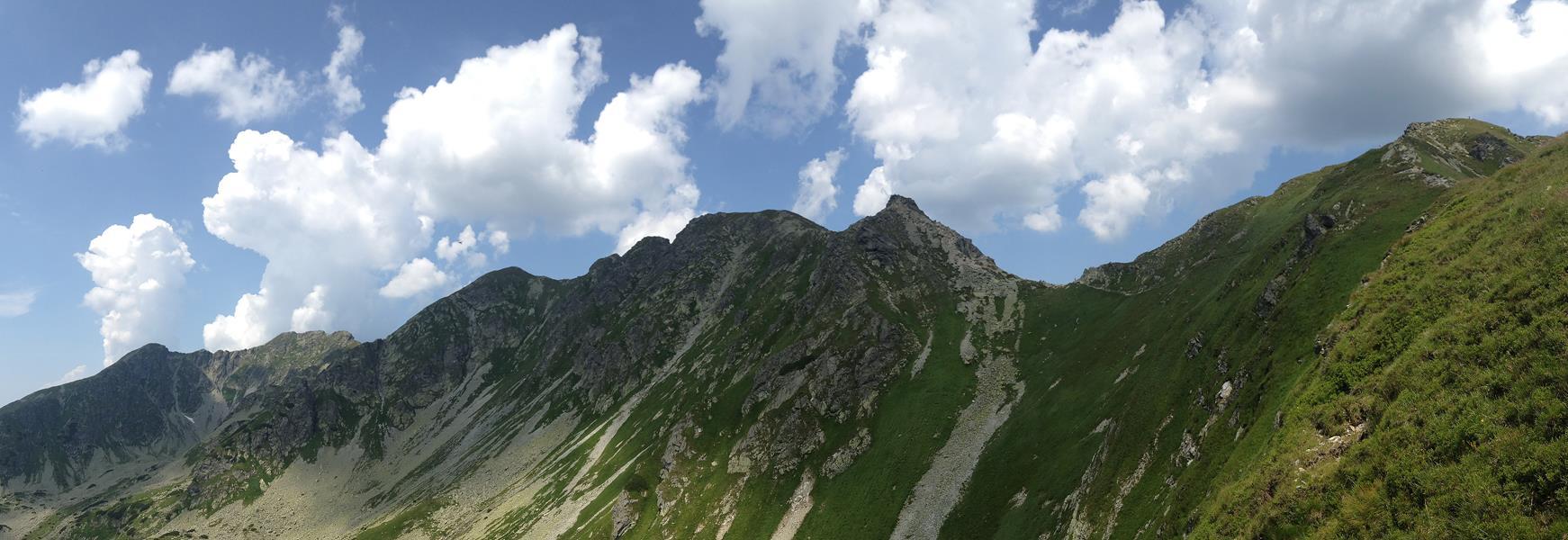 Najťažší hrebeň Západných Tatier