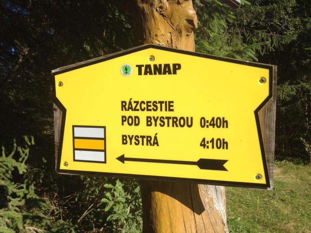 Smer Bystrá, Západné Tatry