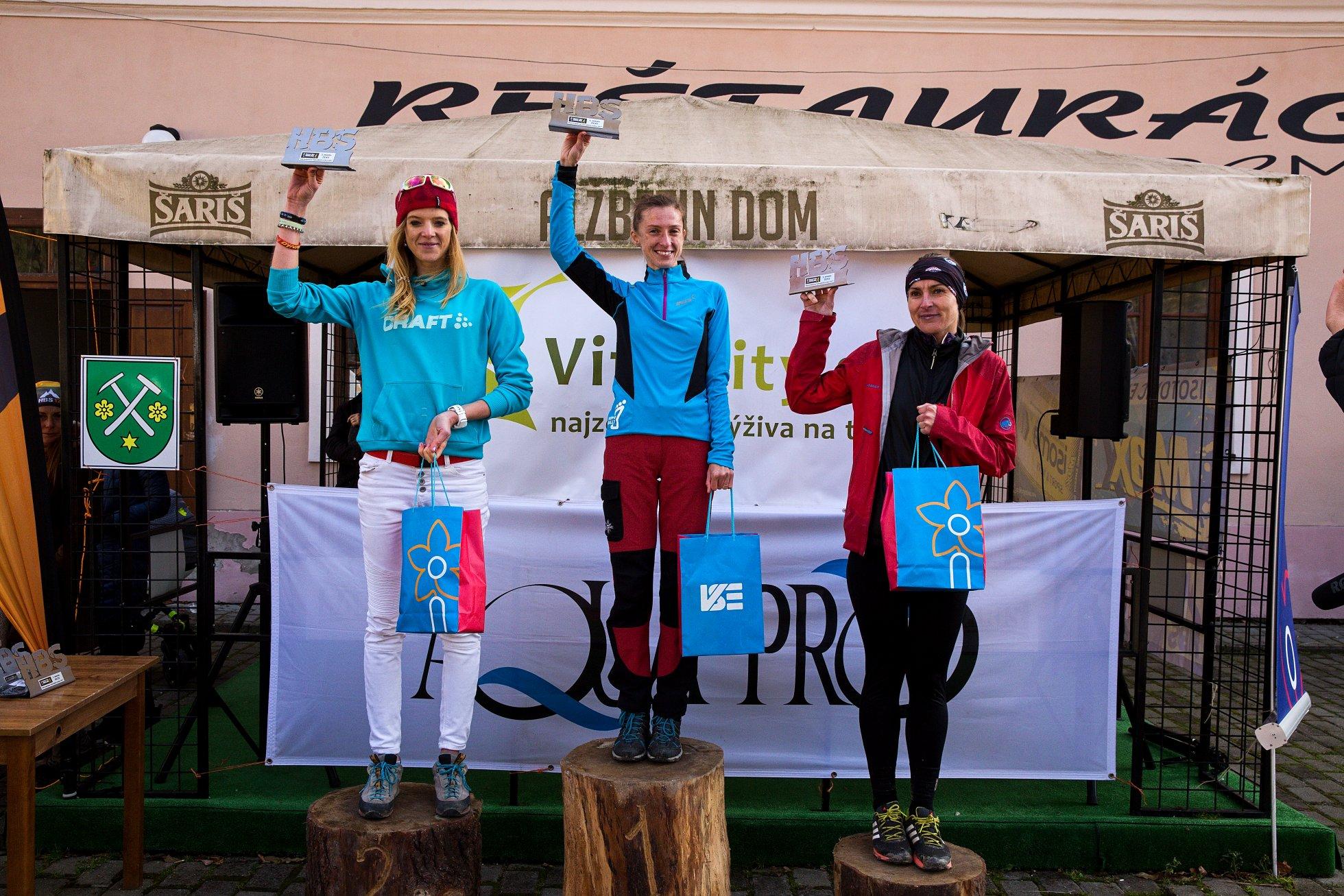 Expresky z hôr 88 - Výsledky ženy – Beh hrebeňom Volovských vrchov 2017