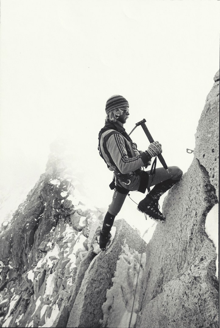 Jeff Lowe Ama Dablam 2nd Ascent 1979 photo by Tom Frost _723x1080