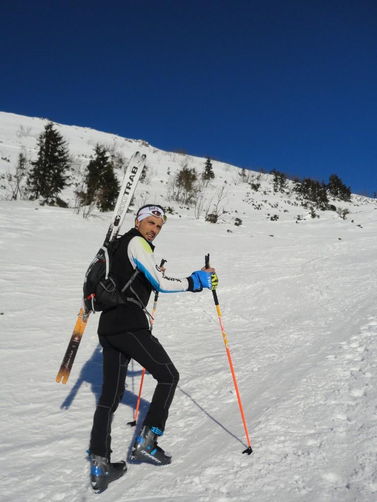Výšľap na Kriváň na crhbte skialpový Batoh FERRINO LYNX 20