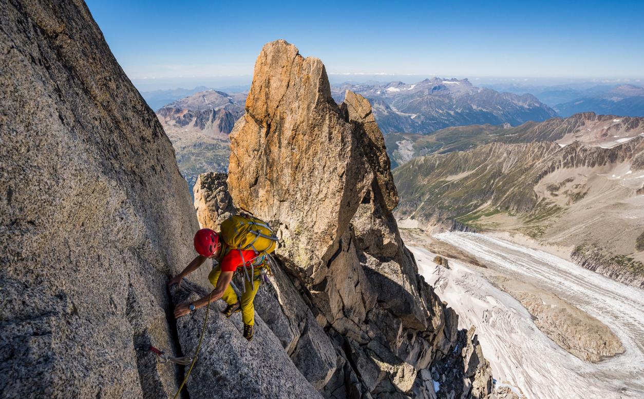 Alpine lowe batoh v akcii