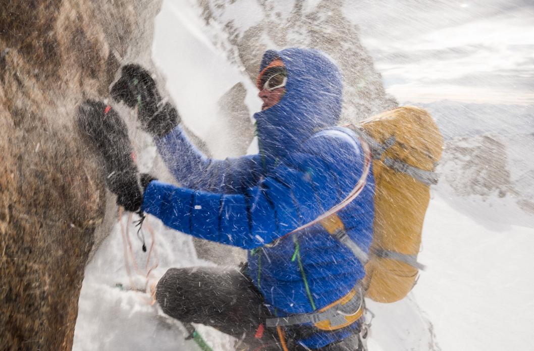 Alpine lowe batoh v alpách