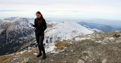 Februárové behy na Inovec a Kľačiansku Maguru v dámskych bežeckých nohaviciach Crivit