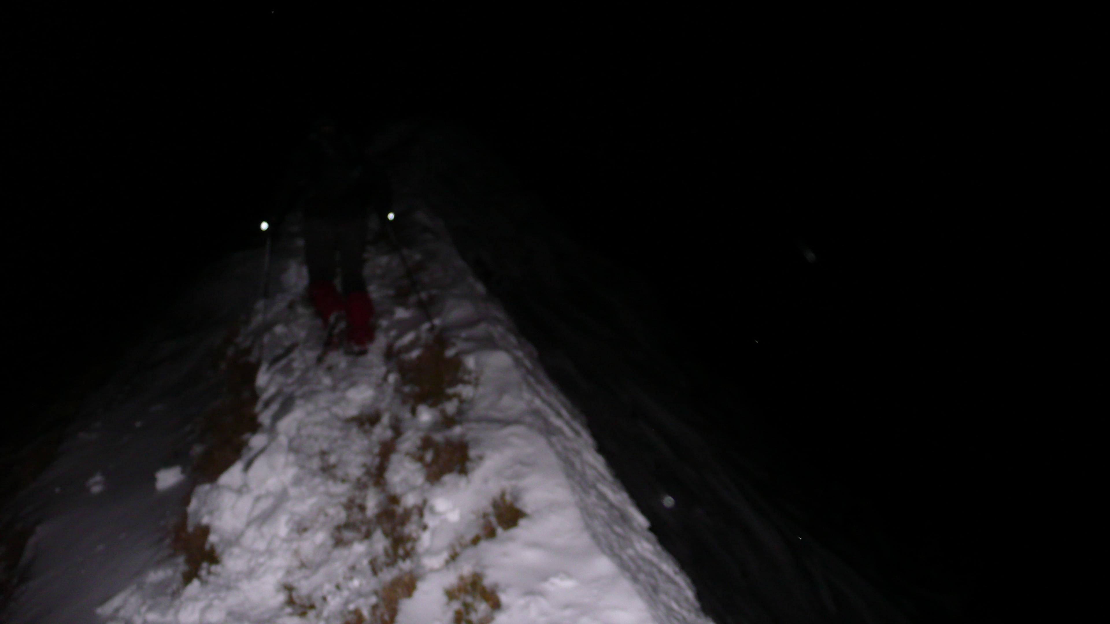 najtran a niektorá časť hrebeňu na preteku/ unknow part of the ridge during the race