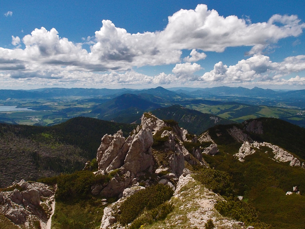 Expresky z hôr 16 - Skalné mesto, cestou na Sivý vrch, Západné Tatry, foto: autor